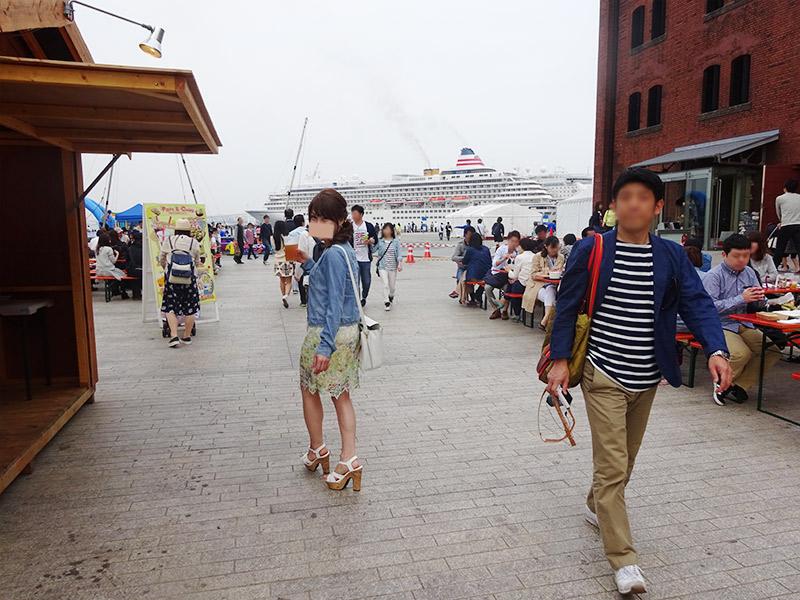 豪華客船〜赤レンガ〜山下公園