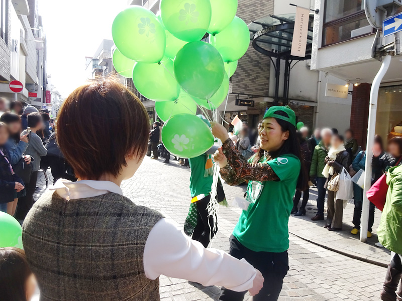 セントパトリックパレード横浜元町