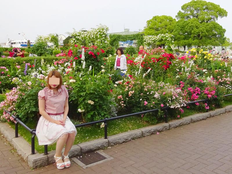 山下公園&パンケーキ