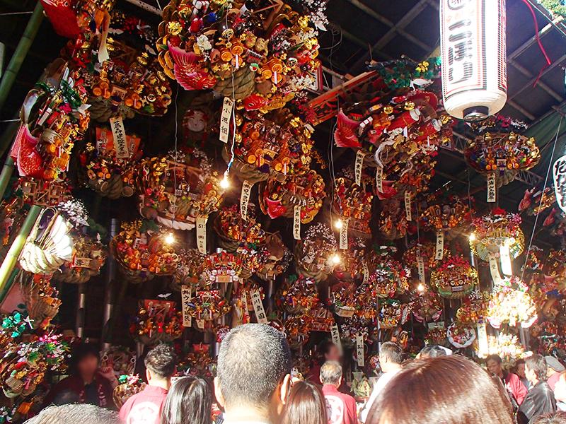 金刀比羅大鷲神社の酉の市